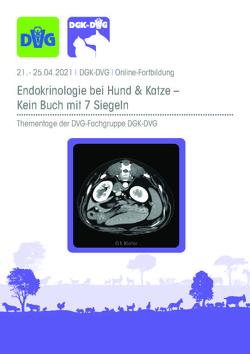DGK-DVG: Thementage Endokrinologie bei Hund und Katze 2021
