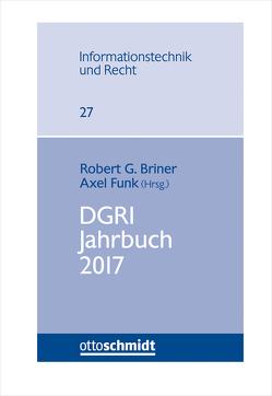 DGRI Jahrbuch 2017 von Briner,  Robert G., Funk,  Dr. Axel