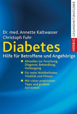 Diabetes von Kaltwasser,  Annette