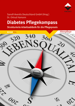 Diabetes Pflegekompass von Hamann,  Ortrud