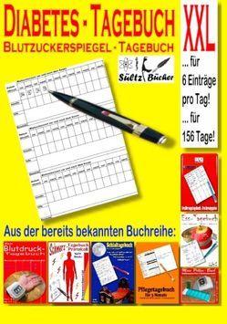 Diabetes Tagebuch – Blutzuckerspiegel Tagebuch XXL von Sültz,  Renate, Sültz,  Uwe H.