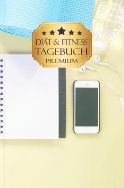 Diät und Fitness Tagebuch Premium von Books,  Pocket
