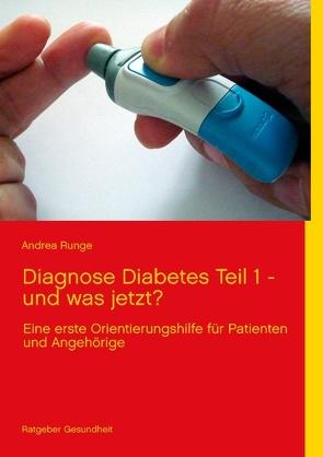 Diagnose Diabetes – Teil 1 – und was jetzt? von Runge,  Andrea