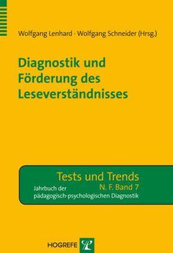 Diagnostik und Förderung des Leseverständnisses von Lenhard,  Wolfgang, Schneider,  Wolfgang