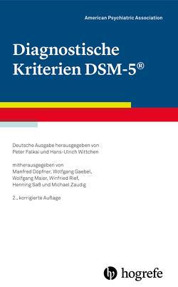 Diagnostische Kriterien DSM-5® von Association,  American Psychiatric