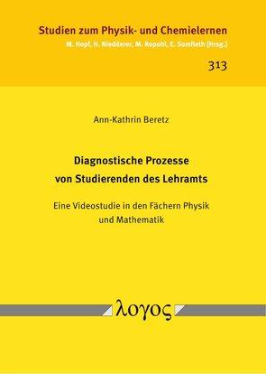 Diagnostische Prozesse von Studierenden des Lehramts von Beretz,  Ann-Kathrin