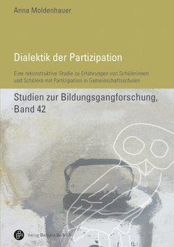 Dialektik der Partizipation von Moldenhauer,  Anna