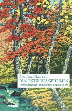 Dialektik des Geheimen von Hadler,  Florian