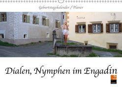 Dialen, Nymphen im Engadin (Wandkalender 2019 DIN A3 quer) von fru.ch