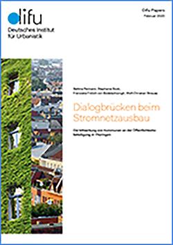 Dialogbrücken beim Stromnetzausbau von Bock,  Stephanie, Frölich v. Bodelschwingh,  Franciska, Reimann,  Bettina