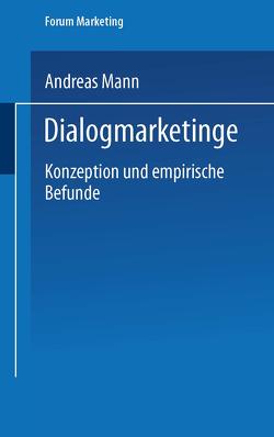 Dialogmarketing von Mann,  Andreas