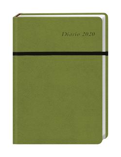 Diario Wochen-Kalenderbuch A5, grün Kalender 2020 von Heye