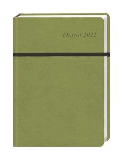 Diario Wochen-Kalenderbuch A6, grün Kalender 2022 von Heye