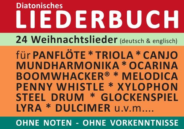 Die Schönsten Weihnachtslieder Englisch.Diatonic Songbooks 24 Weihnachtslieder Deutsch Englisch Mit Ori