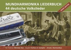 """Diatonic Songbooks / Mundharmonika Liederbuch """"deutsche Volkslieder"""" für Hohner Melody Star, Seydel Sampler, Seydel Fanfare und chrom. Mundharmonikasundharmonika von Boegl,  Reynhard"""
