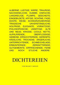 DICHTEREIEN von Doelfs,  Helmut