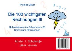 Die 100 wichtigsten Rechnungen III von Meyer,  Thomas