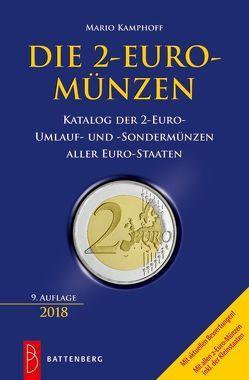Die 2-Euro-Münzen von Kamphoff,  Mario