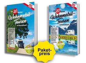 Die 20 besten Wohnmobiltouren in Deutschland Band 2 und 3