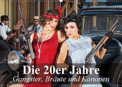 Die 20er Jahre – Gangster, Bräute und Kanonen (Wandkalender 2018 DIN A2 quer) von Stanzer,  Elisabeth