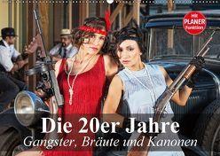 Die 20er Jahre. Gangster, Bräute und Kanonen (Wandkalender 2018 DIN A2 quer) von Stanzer,  Elisabeth