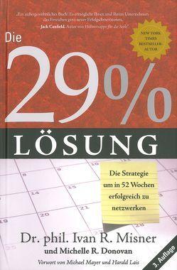 Die 29 % Lösung von Donovan,  Michelle R., Misner,  Ivan R.