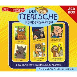 Die 30 besten: Der tierische Kindergarten – 3CD Hörspielbox von Hainer,  Lukas, Moskanne,  Dieter, MS Urmel, Schürjann,  Markus