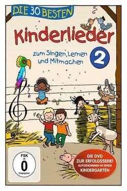 Die 30 besten Kinderlieder 2 – Die DVD von Die Kita-Frösche, Glück,  Karsten, Sommerland,  Simone