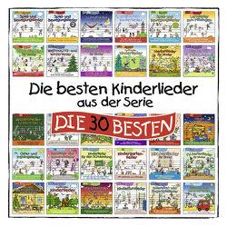 Die 30 besten Kinderlieder aus der Serie DIE 30 BESTEN von Die Kita-Frösche, Glück,  Karsten, Sommerland,  Simone