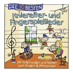 Die 30 besten Kniereiter- und Fingerspiellieder von Die Kita-Frösche, Glück,  Karsten, Sommerland,  Simone