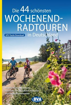 Die 44 schönsten Wochenend-Radtouren in Deutschland mit GPS-Tracks