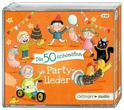 Die 50 schönsten Partylieder (3 CD) von Faber,  Dieter, Jeschke,  Stefanie, Oberpichler,  Frank, Poppe,  Kay, Pusch,  Bastian, RADAU!, Reyhani,  Markus, Various