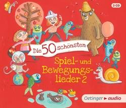 Die 50 schönsten Spiel- und Bewegungslieder 2 von Jeschke,  Stefanie, Poppe,  Kay, Pusch,  Bastian