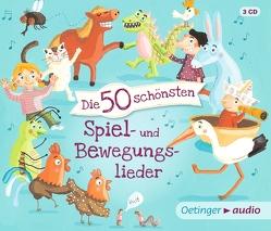 Die 50 schönsten Spiel- und Bewegungslieder (3 CD) von Faber,  Dieter, Jeschke,  Stefanie, Oberpichler,  Frank/Rale, Poppe,  Kay, Pusch,  Bastian, RADAU!, Various