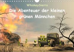 Die Abenteuer der kleinen grünen Männchen (Wandkalender 2020 DIN A4 quer) von WhiskeySierra