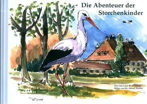 Die Abenteuer der Storchenkinder von Blumenstein,  Luise, Hilgartner,  Roland, Triebke,  Alfred