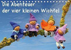 Die Abenteuer der vier kleinen Wichtel (Tischkalender 2018 DIN A5 quer) von Schmutzler-Schaub,  Christine