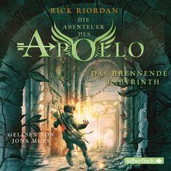 Die Abenteuer des Apollo 3: Das brennende Labyrinth von Haefs,  Gabriele, Mues,  Jona, Riordan,  Rick