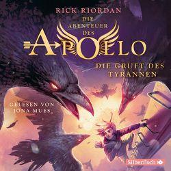 Die Abenteuer des Apollo 4: Die Gruft des Tyrannen von Haefs,  Gabriele, Mues,  Jona, Riordan,  Rick