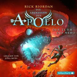 Die Abenteuer des Apollo 5: Der Turm des Nero von Haefs,  Gabriele, Mues,  Jona, Riordan,  Rick