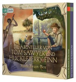 Die Abenteuer von Tom Sawyer und Huckleberry Finn von Twain,  Mark, Wachtveitl,  Udo