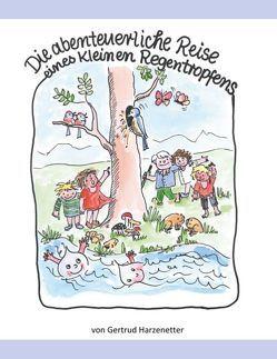 Die abenteuerliche Reise eines kleinen Regentropfens von Harzenetter,  Gertrud