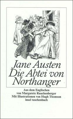 Die Abtei von Northanger von Austen,  Jane, Rauchenberger,  Margarete, Thomson,  Hugh