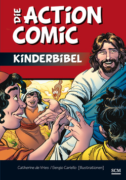 Die Action-Comic-Kinderbibel von Cariello,  Sergio, Vries,  Catherine de
