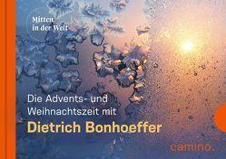Die Advents- und Weihnachtszeit mit Dietrich Bonhoeffer von Bonhoeffer,  Dietrich, Vogt,  Beate