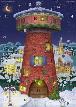 Die Adventskinder aus dem Rummelturm von Hausmann,  Sabine, Naumann,  Andrea