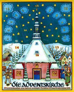 Die Adventskirche von Rudolph,  Helmut