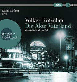 Die Akte Vaterland von Kutscher,  Volker, Nathan,  David