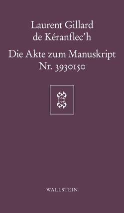 Die Akte zum Manuskript Nr. 3930150 von h,  Laurent, Pannowitsch,  Ralf