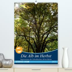 Die Alb im Herbst (Premium, hochwertiger DIN A2 Wandkalender 2021, Kunstdruck in Hochglanz) von Gärtner- franky242 photography,  Frank